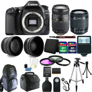 Canon-EOS-Rebel-80D-24-2MP-DSLR-Camera-18-55mm-70-300mm-24GB-Accessory-Kit