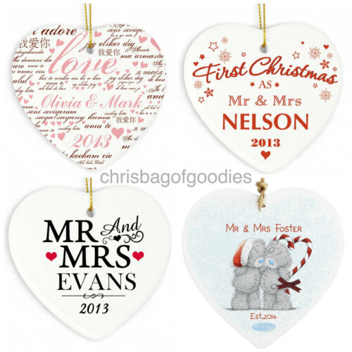 PERSONALISED our 1st FIRST VALENTINES DAY WEDDING ANNIVERSARY Gifts for Him Her