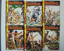 6x TARZAN - Nr. 1 - 6. Sammelausgabe. Hethke Top Comic Collection / SC