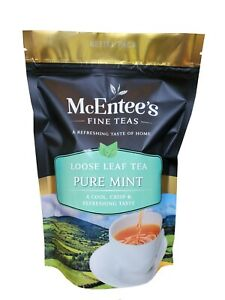 McEntee's Pure Mint Tea Infusion- 150g Bag – Carefully Selected in Ireland