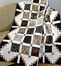 Simply Cool Quilt Pattern~FAST~VERY EASY~scrappy~baby~crib-twin~queen~king #444