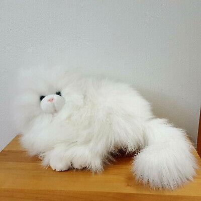 White LEGO Baby Lamb Standing w// Blue Eyes /& Pink Nose Animal