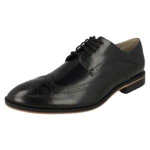 Elegante Hombre Oxford Clarks Zapatos Limit Gatley 6CO11Rwq