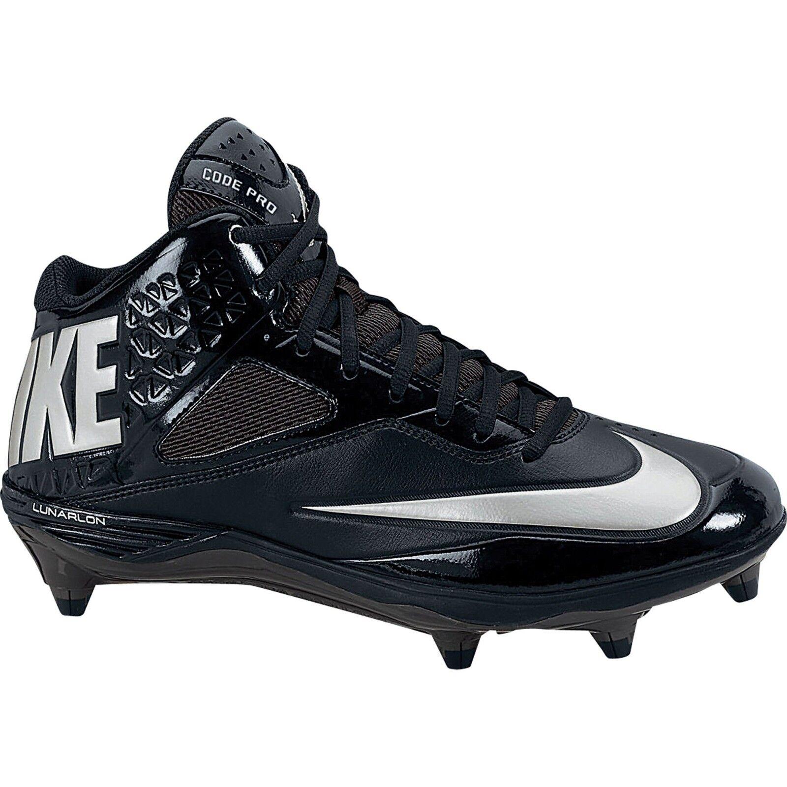 Nike maschile codice lunare (3 / 4 staccare football scarpette, 579668 002 confezioni - blk