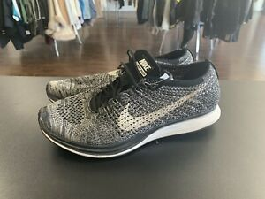 new concept 69b13 fc6fd Image is loading Nike-Flyknit-Racer-Oreo-2-0-size-10-
