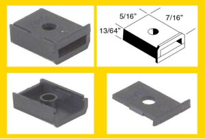 Universal Schwarzer Schatulle Isolierte Gear Boxen & Deckel - Kadee #242