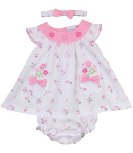 BabyPrem Baby Girls/' Clothes Pink Summer Dress Set Outfit Size 9-24m
