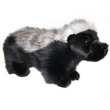 28cm Honey Badger Soft Toy by Dowman - Plush Cuddly Stuffed Toy
