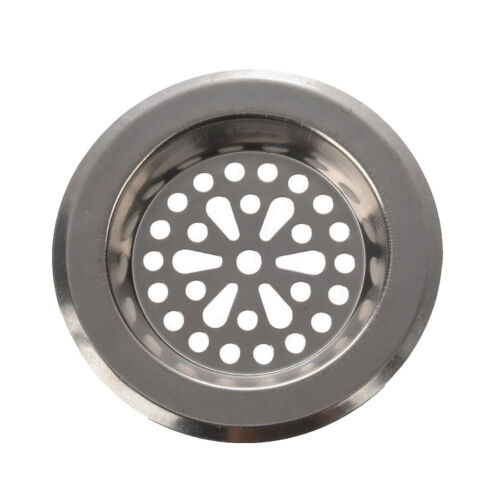 New 77mm x 55mm x 45mm Silver Tone Stainless Steel Kitchen S Strainers FP