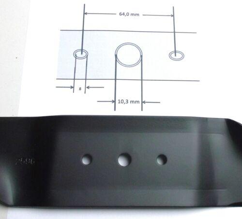 2x Mäher Messer für MTD 742-0487A Gutbrod Yerd Man B Serie 300