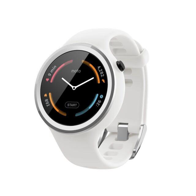 Motorola Moto 360 Sport Smartwatch 45mm 2nd Generation GPS 4GB - Silicone - New