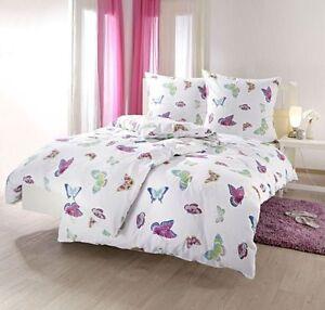 bettw sche bettgarnitur 200x200 65x65 baumwolle weiss. Black Bedroom Furniture Sets. Home Design Ideas