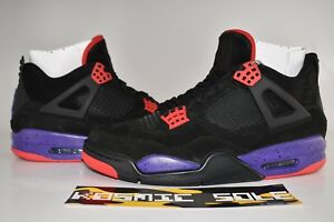 reputable site 35357 af27e Image is loading Nike-Air-Jordan-4-Retro-Raptor-Style-AQ3816-