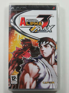 STREET FIGHTER ALPHA 3 MAX PSP EURO NEW