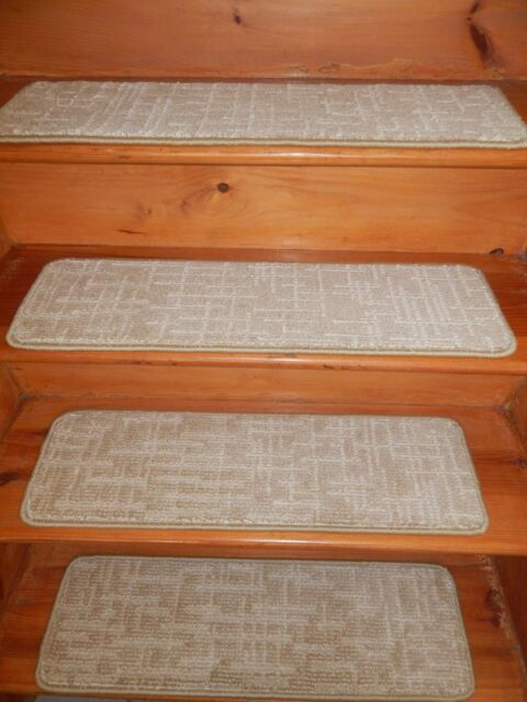 "13 Step 9"" X 30"" + LANDING 26"" X 30"" Stair Treads Staircase Step CARPET."