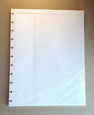 60 Ct Levenger Circa Discbound Annotation Ruled Letter Sz Refill Sheets Ads5910