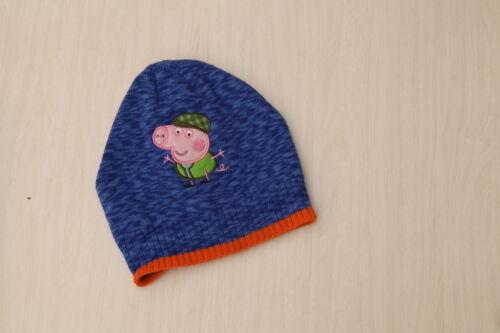 2-4-6 years NEW Kids Boy Peppa Pig Winter Hat Size 1-3