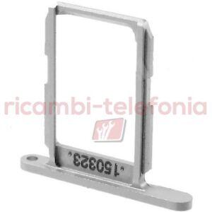 carrello porta SIM per Samsung G920F Galaxy S6 carrellino scheda vano nano-SIM