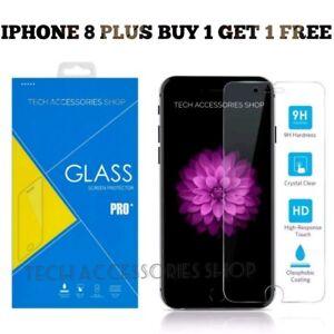 Per iPhone 8 PLUS VETRO TEMPERATO PROTEGGI SCHERMO-Crystal Clear