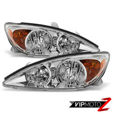 Factory Style Leftright For 2002 2004 Toyota Camry Headlights Headlamps Set