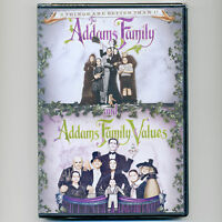 2 Addams Family Movies, Dvd Values Halloween Christopher Lloyd, Ricci Huston