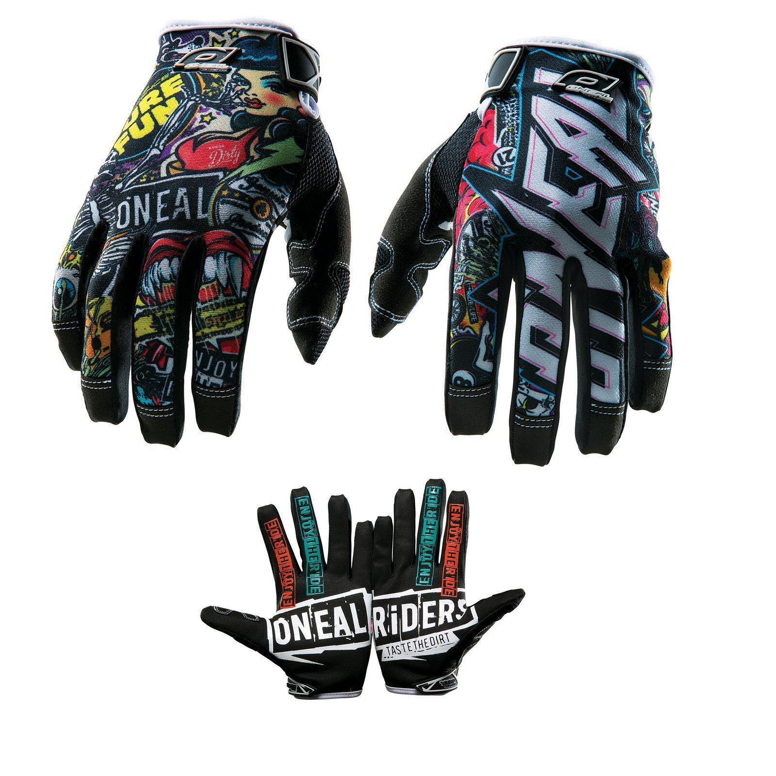ONeal Mayhem CRANK Handschuhe MX DH Moto Cross Enduro Mountain Bike Fahrrad MTB