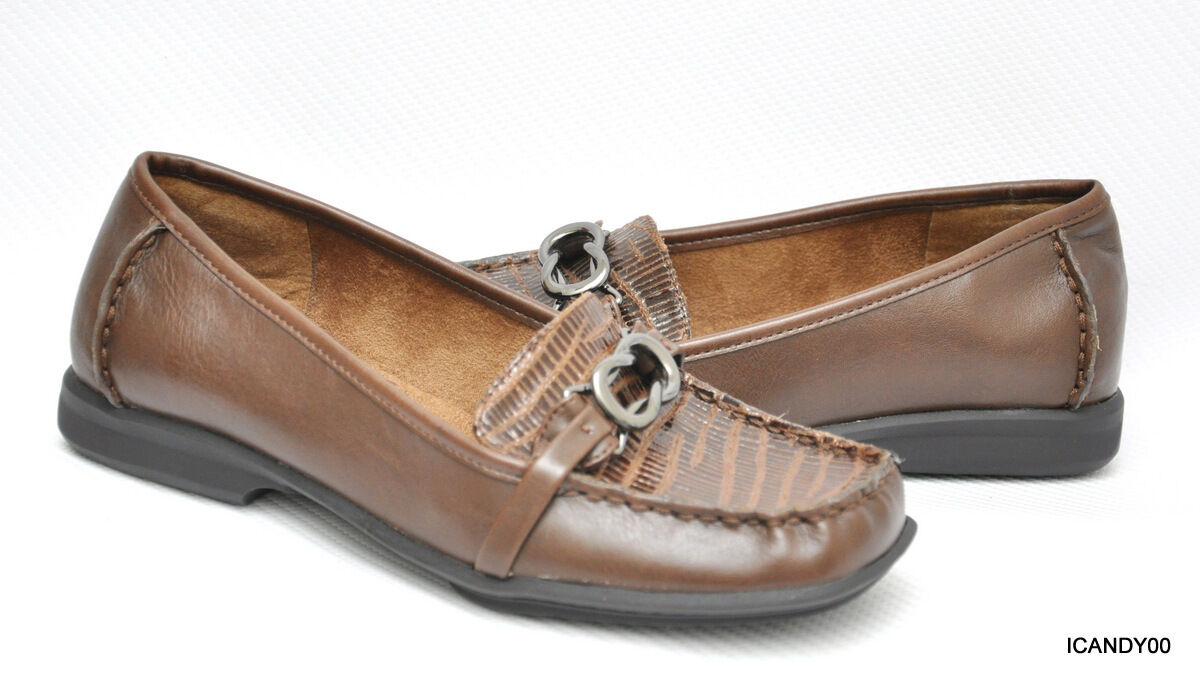 New Aerosoles MATTER of FACT Casual Loafer Moc Flat shoes Brown 6