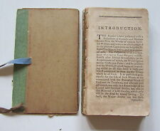 Antique Book Peter Provo's Divine Maxims Swedenborg c. 1789