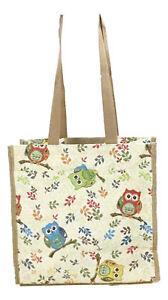 Tapestry-034-Colourful-Owls-034-Shopper-Bag-Tote-Bag-Signare