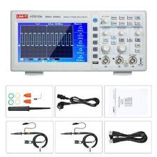 Uni T Digital Oscilloscope Utd2102e 100mhz 2ch 500mss Usb Scopemeter 7tft Lcd
