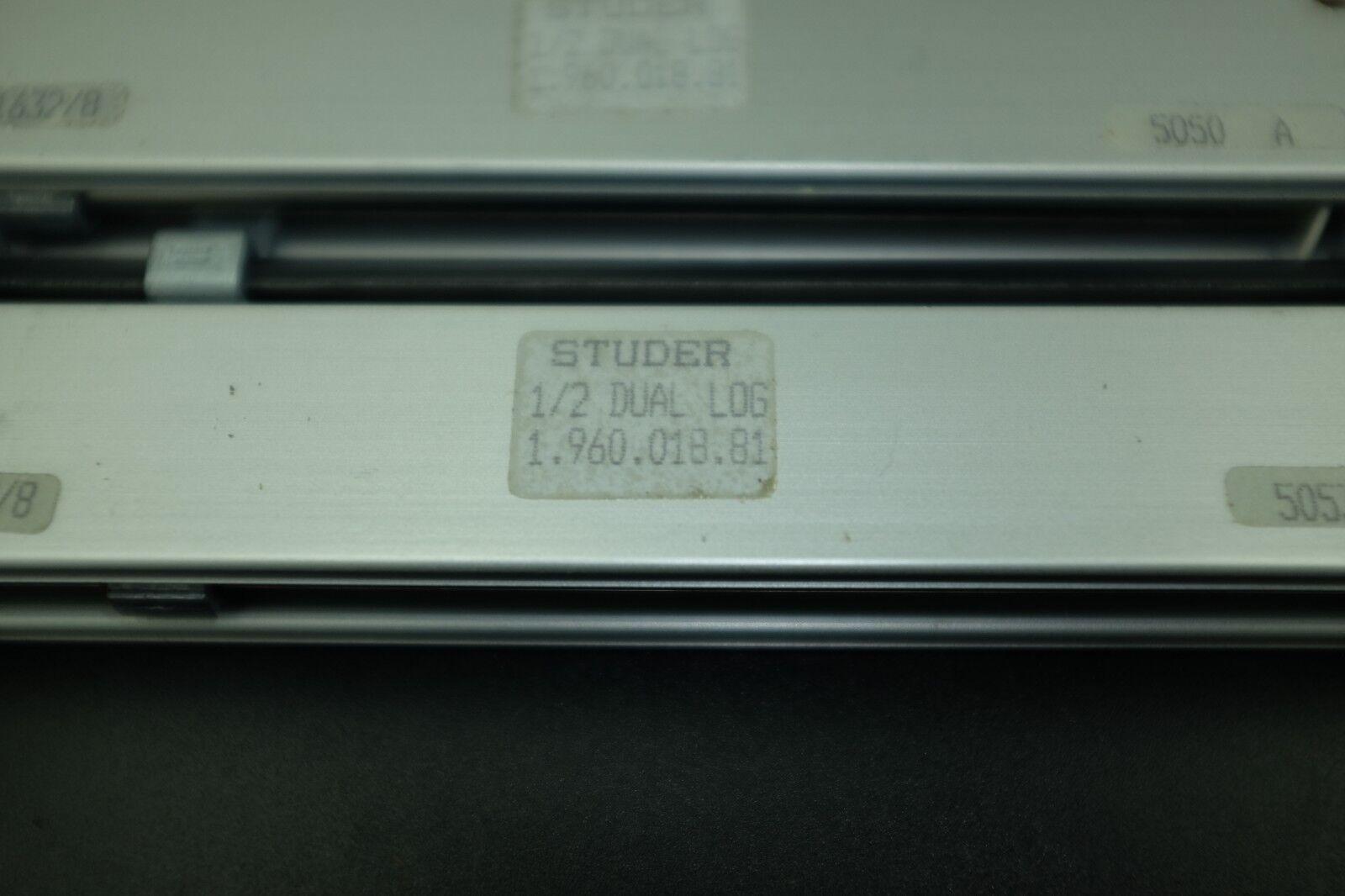 STUDER 1.960.018.81 STUDER 1 2 Dual Fader de registro utilizado utilizado utilizado Rara Vintage A900  ahorre 60% de descuento