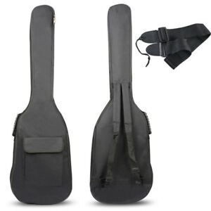 Double-Straps-Padded-Electric-Bass-Guitar-Gig-Bag-Soft-Case-Backpack-New-2018