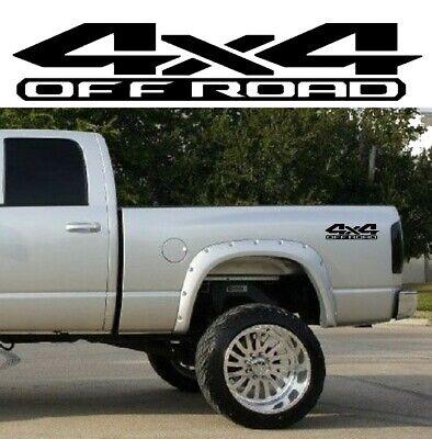 DODGE RAM 4x4 OFF ROAD 1500 2500 Dakota Truck Bed Decal Set Vinyl Sticker