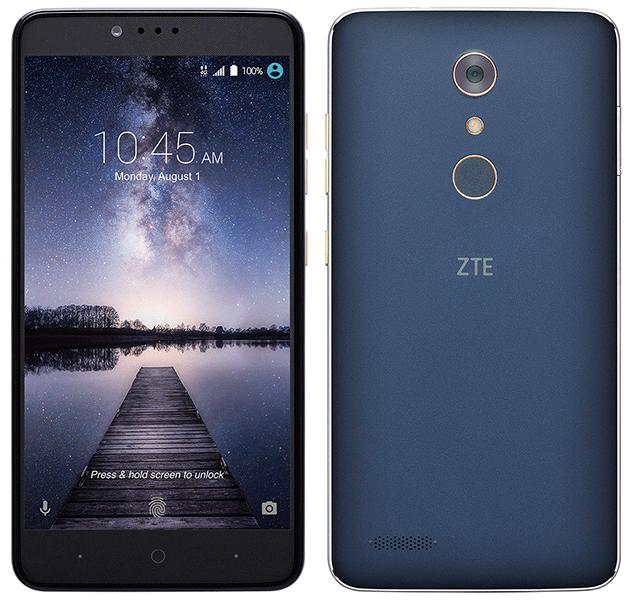 Unlocked! ZTE ZMAX Pro Z981 32GB Black Smartphone 4G LTE USB-C
