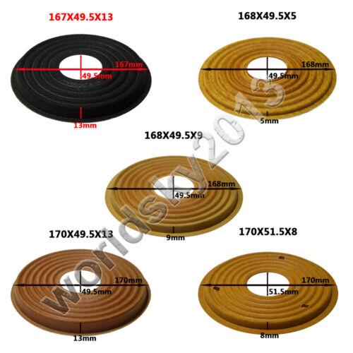 167x49.5//168x49.5//170x49.5//170x51.5mm Speaker Spider Damper Woofer Repair Parts