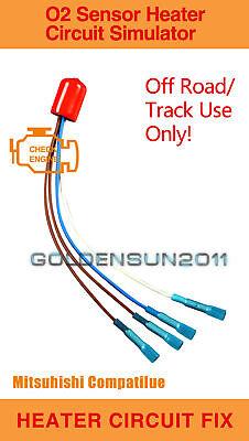 GMC Compatible O2 Oxygen Sensor Lamba Simulator Emulator Bypass P0420 Delete