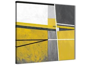Wondrous Details About Mustard Yellow Grey Painting Kitchen Canvas Wall Art Abstract 1S388S 49Cm Complete Home Design Collection Epsylindsey Bellcom