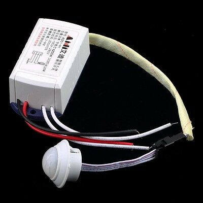 IR Infrared Module Body Sensor Intelligent Light Motion Sensing Switch New KK