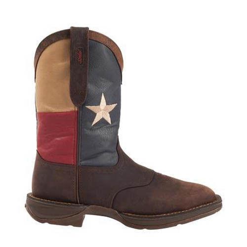 Durango Rebel  Steel Toe Texas Flag Western Boot DB021