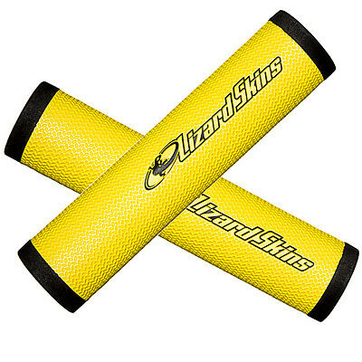 130mm Length, 32.3mm Thick Lizard Skins DSP Mountain Bicycle Grips New Yellow