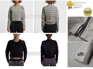 681bfb2d267c Image is loading Nike-Tech-Fleece-Aeroloft-Ladies-Womens-Sweatshirt-Crewneck -
