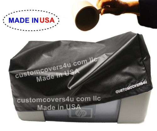 HP LaserJet M553DN PRINTER DUST COVER WATER REPELLENT EMBROIDERY !