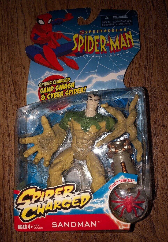 RARE 2009 Spectacular Spider-MAN ANIMATED serie SANDMAN NEW IN BOX