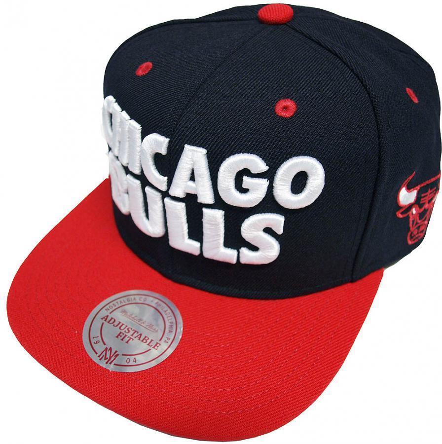 Mitchell & Ness NBA Chicago Bulls Score Score Bulls Snapback Cap EU300 Baseball Cap 9571a6