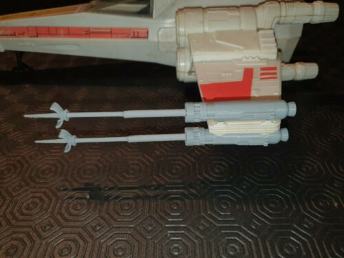 FILM ACCURATE CANNONS  3D PRINTED. VINTAGE STAR WARS Kenner X-Wing set of 4
