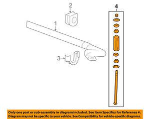 GM OEM Stabilizer Sway Bar-Front-Link 13282833 Car & Truck Parts Car & Truck Sway Bars & Parts