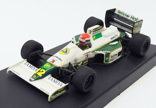 Onyx 1/43 Scale Model Car 130 - F1 '91 Lotus Judd 102B - Johnny Herbert