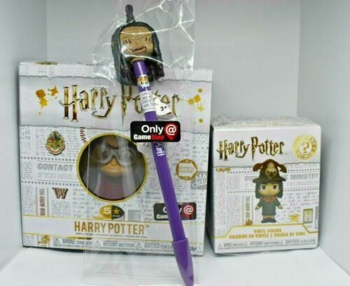 Funko POP Harry Potter Quidditch Figure Boggart As Snape Mini /& Pen With Topper