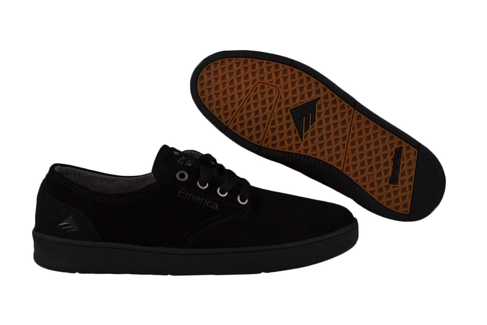 Emerica The Romero Laced schwarz schwarz Turnschuhe Schuhe schwarz