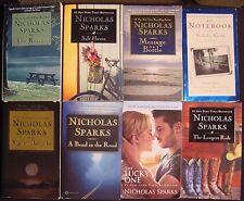 Nicholas Sparks~Lot 8 PB~Longest Ride~Safe Haven~Message in the Bottle~Rescue+